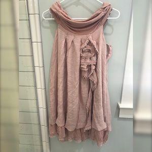 By Stella pink floral dress
